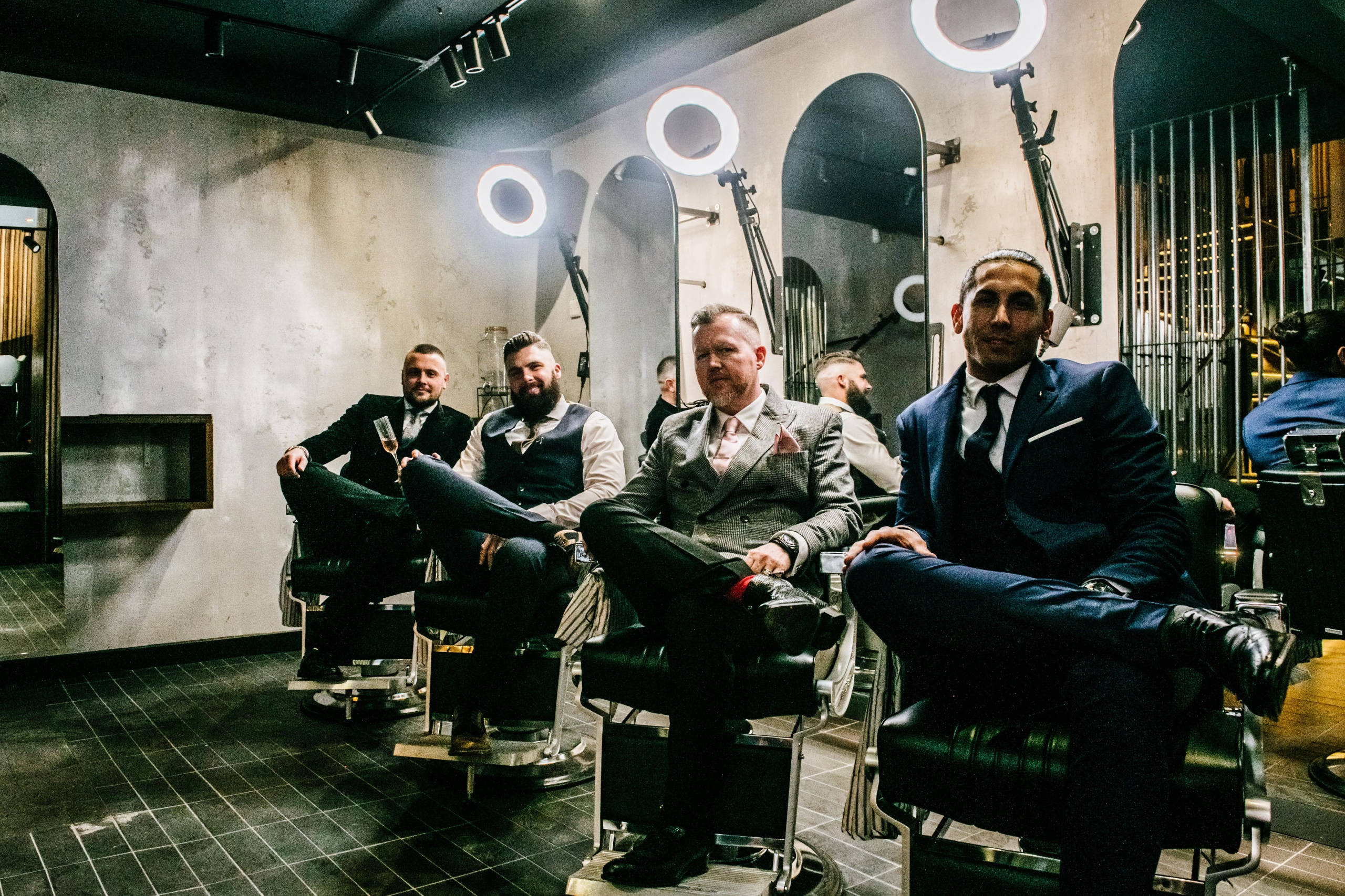 Manchester's New Cocktail Bar Hidden Behind a Barbershop Mirror